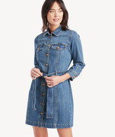 Sole Society Sanctuary Denim Women's Rhea Shirt Dress In Color: Pure Spar Size Large From