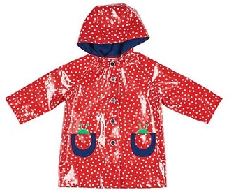 Florence Eiseman Little Girl's Dotted Raincoat