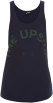 The Upside Issy cotton and linen-blend performance tank top
