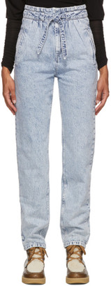 Isabel Marant Blue Uduard Jeans