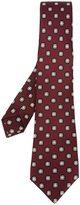 Kiton medallion print tie
