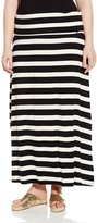 Calvin Klein Women's Plus-Size Striped Maxi Skirt