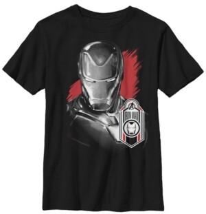 Fifth Sun Marvel Big Boys Avengers Endgame Iron Man Tag Short Sleeve T-Shirt