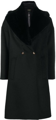 Liu Jo Faux Fur Collar Coat
