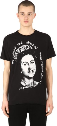 Boy London God Save The Queen Jersey T-Shirt