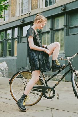 Urban Outfitters Pippa Chiffon Tiered Mini Dress