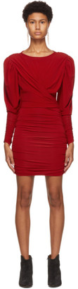 Isabel Marant Red Ghita Dress