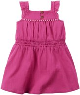 Carter's Dress with Diaper Cover (Baby) - Pink - 18 Months