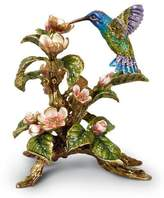 Jay Strongwater Dawn Hummingbird Tableau