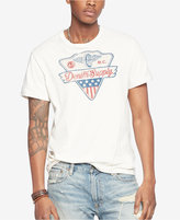Denim & Supply Ralph Lauren Men's Cotton Jersey Graphic Crew Neck T-Shirt