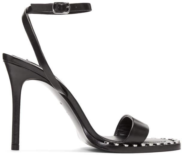 Alexander Wang Black Cate Sandals