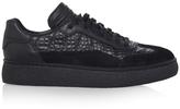 Alexander Wang Eden Low Top Croc-effect Sneakers
