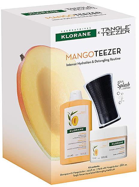 Klorane Mango Teezer Kit.