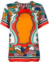 Emilio Pucci printed T-shirt - women - Silk - 40