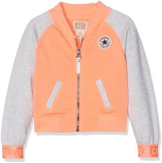Converse Girl's Raglan Varsity Jacket Tracksuit