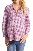 Everly Grey Women's 'Batina' Maternity Shirt