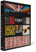 Assouline Fendi Roma Hardcover Book - Black