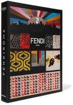 Assouline Fendi Roma Hardcover Book - Black