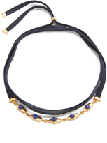 Lizzie Fortunato Day & Night Wrap Choker Necklace