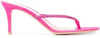 Gianvito Rossi Calypso heeled flip-flops