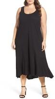 Plus Size Women's Caslon Drop Waist Jersey Dress