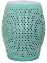 Safavieh Diamond Lattice Ceramic Stool