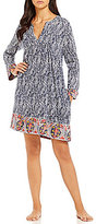 Lucky Brand Pleated Lounge Tunic