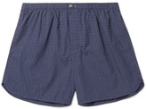 Calvin Klein Underwear - Checked Cotton Boxer Shorts