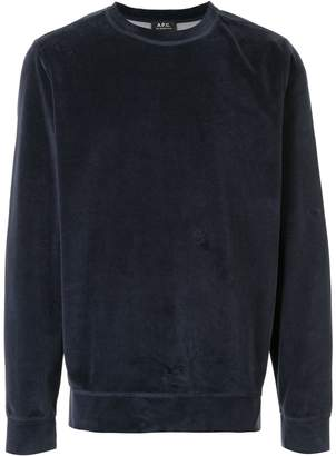 A.P.C. crew-neck sweatshirt