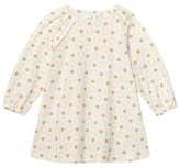 Versace White and Gold Ladybird and Bee Print Dress