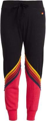 Aviator Nation Glider Rainbow Stripe Sweatpants