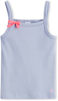 Petit Bateau Girls camisole top with spaghetti straps