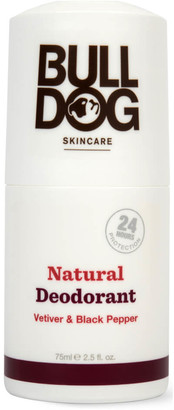 Bulldog Skincare For Men Bulldog Black Pepper & Vetiver Natural Deodorant 75ml