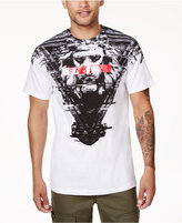 Sean John Men's Savage Lion Graphic-Print T-Shirt