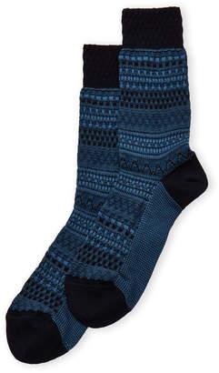 Missoni Patterned Crew Socks