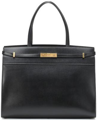 Saint Laurent Manhattan Large leather tote