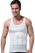 Niyatree Men's Body Shaper Slimming Elastic Shirt Body Shapewear Size M