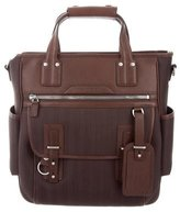 Ghurka Concord Leather-Trimmed Tote