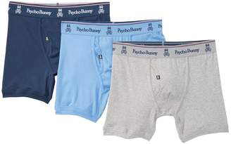 Psycho Bunny Classic Boxer Briefs - Pack of 3