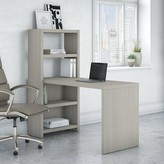 Kathy Ireland Office By Bush Echo Writing Desk Office by Bush Color: Gray Sand