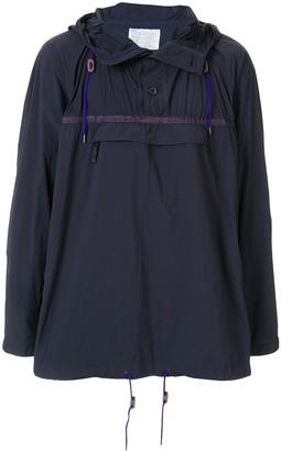 Kolor Hooded Shell Jacket