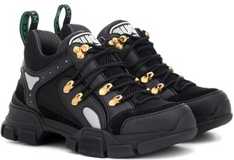 Gucci Flashtrek leather sneakers