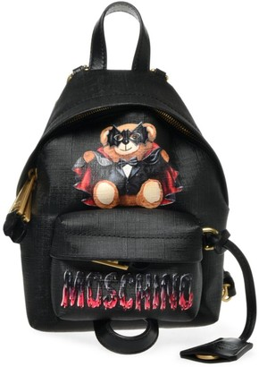 Moschino Small Vampire Bear Backpack