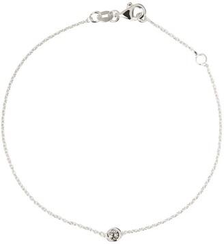 Botier 18kt white gold Eyes Wide Shut diamond bracelet