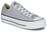 Converse Chuck Taylor All Star Lift Seasonal Color women's Shoes (Trainers) in Grey