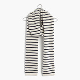 Madewell Striped Cashmere Scarf