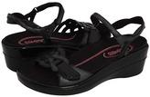 Klogs USA Santa Rita (Black Leather) - Footwear