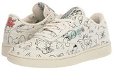 Reebok Tom and Jerry Club C 85 (Chalk/Paperwhite/Excellent Red) Shoes
