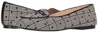French Sole Nicky Hilton - Madison (Black/White Plaid Polka Dot) Women's Shoes