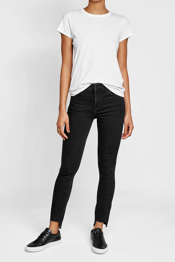 Citizens of Humanity Skinny Jeans with Staggered Hem